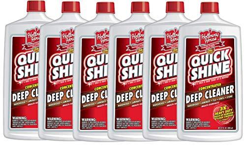 (Quick Shine Concentrated Deep Cleaner, 6 Bottles, 6 Bottles)