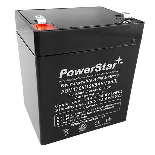New Liftmaster 485LM Battery Backup For Liftmaster 3850 Opener by PowerStar (Battery Backup Volt)