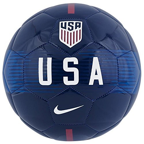 - NIKE U.S. Supporters Football (Midnight Navy/Blue/White, 5)