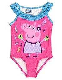 Peppa Pig Girls Swimwear Swimsuit (Toddler/Little Kid)
