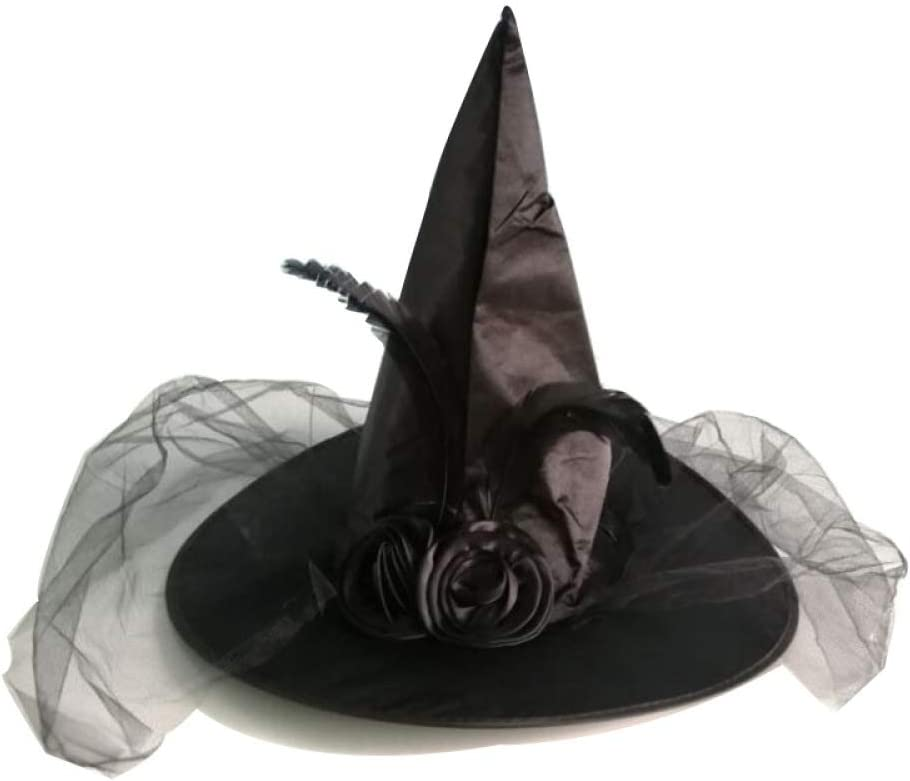 con Parte de Arriba Smiffys-24575S Halloween Disfraz de Viuda Negra de Ghost Town S-EU Tama/ño 36-38 Color Gris Falda y sombrer SmiffyS 24575S