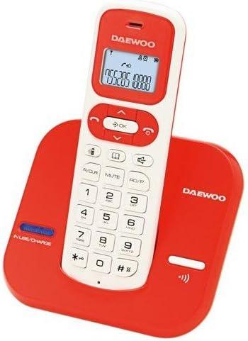 Daewoo DAE31DTD1600R - Teléfono Fijo: Amazon.es: Electrónica
