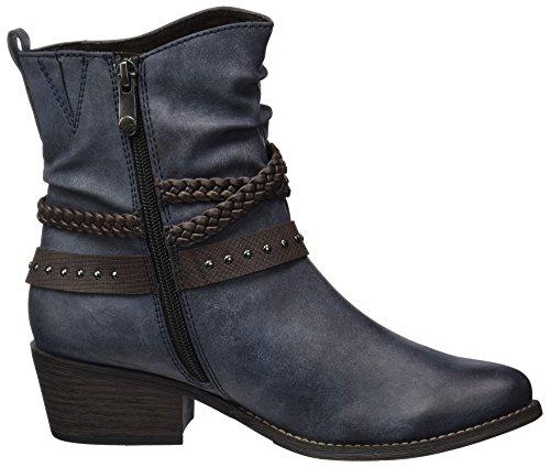 Marco Tozzi Women's 25354 Boots Blue (Navy Antic Com) y7j8eqMA