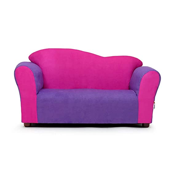 Amazon.com: keet Wave sofá, Silla club, Rosado/Púrpura: Baby