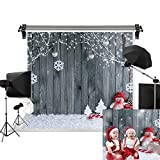 Kate 7x5ft/2.2m(W) x1.5m(H) Christmas Backdrop Christmas Wood Wall Backgrounds Family Decorations Photography Studio Prop