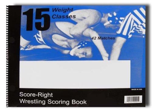 Score-Right 30 Match Wrestling Scorebook by Score Right