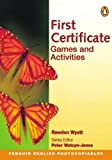 img - for First Certificate Games and Activities (Penguin English photocopiables) book / textbook / text book