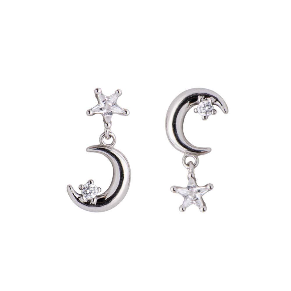LSDAMW Earrings For Women Drop Dangle Girls Exaggerated Niche Oval Earrings