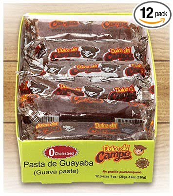 Guava Candy (Dulce de Guayaba) Made with 100% Real Guava - 1 oz