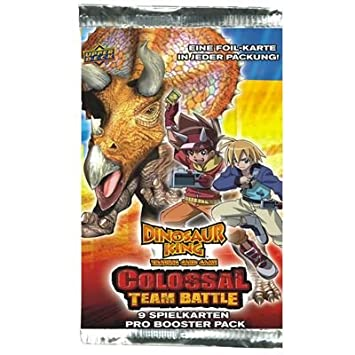 Upper Deck 211269 - Cartas intercambiables Dinosaur King ...