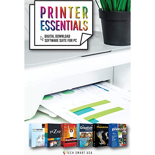 Canon PIXMA Wireless All-in-One Printer TR8520 with Printer Essentials Bundle and More by Beach Camera (Image #7)