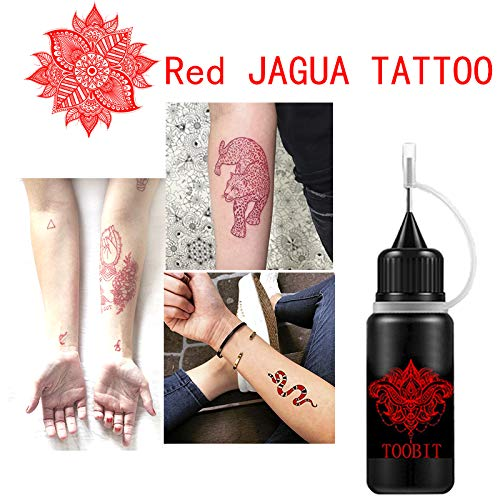 Kit de tatuaje temporal, 3 botellas, 1.5 onzas, gel natural ...