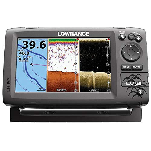 - Lowrance 000-12664-002 Navico Hook 7 with Card & Cover Mid/High Down Scan