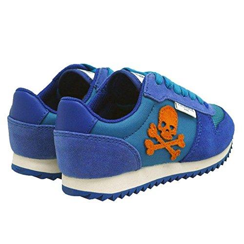 Zapatillas Casual niño Scalpers Calavera Skull Insignia 10988 Indigo: Amazon.es: Zapatos y complementos