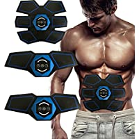 [Bestseller]Gorkevin Abdominal Muscle Toner,Abs Training Gear,Muscle System for Abdomen and Arm, Wireless,Home/Office Workout Equipment,Support Men & Women