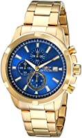Invicta Men's 19223 Specialty Analog Display Japanese Quartz Gold Watch