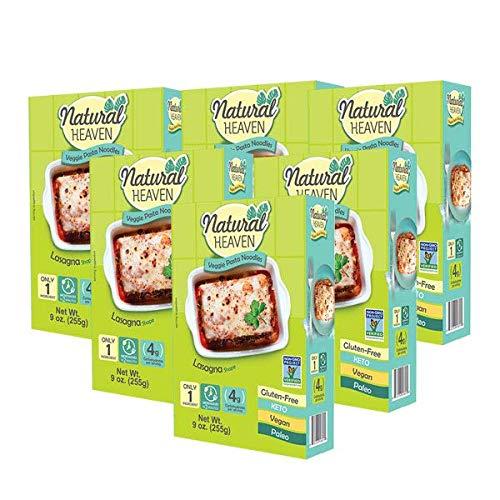 Natural Heaven Lasagna Hearts of Palm 6 packs of 9 oz