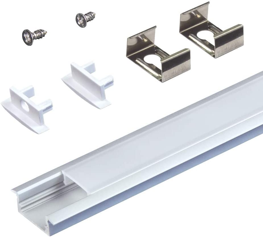 Armacost Lighting 960052 Recessed Mounting Channel, Aluminum - -