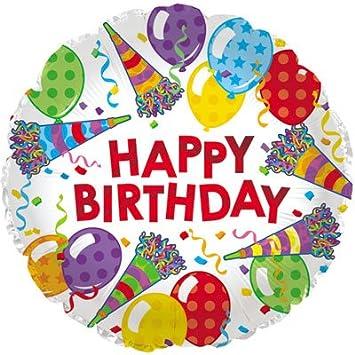 Amazon.com: CTI Happy sombrero de cumpleaños y tamaño 17 CTI ...