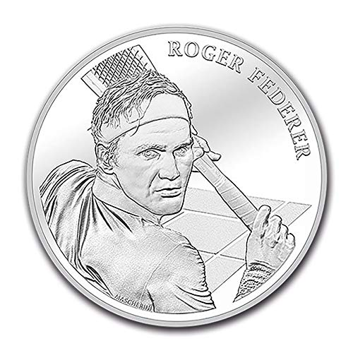 2020 CH Switzerland Silver 20 CHF Roger Federer BU Silver Brilliant Uncirculated