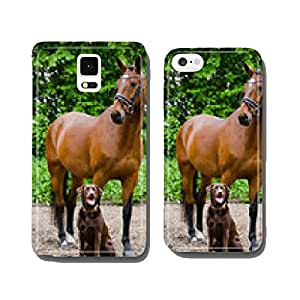Horse and dog cell phone cover case iPhone6 Plus