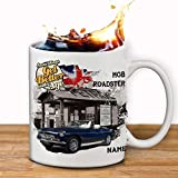 Personalised MGB Roadster Classic Car Collector Mug Cup Gift in a Gift Box Add a name by Krafty Gifts
