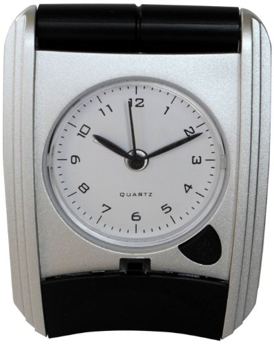 Ashton Sutton CL05 Travel/Table Alarm Clock