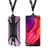 Cell Phone Neck Lanyard Case,Universal Mobile Phone Cover Handsfree Smartphone Holder with Adjustable Neck Strap Soft and comfortable For iPhone X 8 7 6 Plus Samsung Galaxy S9 S8 S7 Phone lanyard