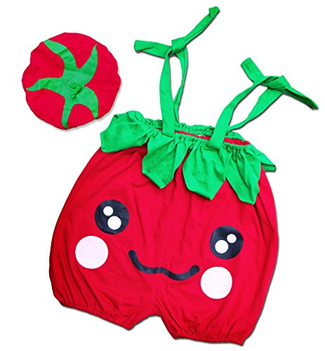 I-Fame Infant Unisex Baby Fancy Tomato Costume