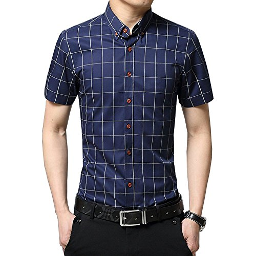 YTD Cotton Sleeve Plaid Button product image