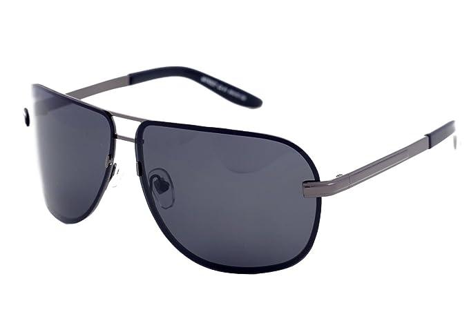 Matrix Drive - Gafas de sol - para hombre Plateado gris M ...