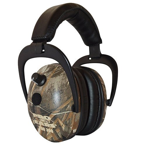 Pro Ears - Pro 300 - Electronic Hearing Protection and Amplification - NRR 26 - Ear  Muffs - Max 5 Camo by Pro Ears