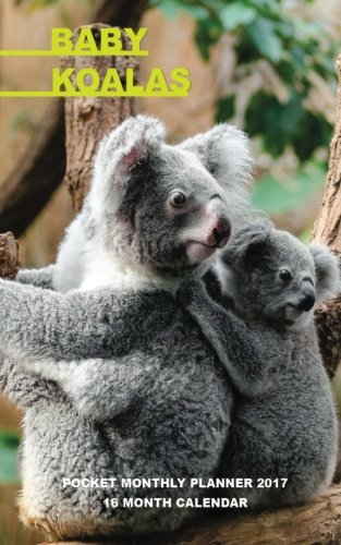 Baby Koalas Pocket Monthly Planner 2017: 16 Month Calendar PDF