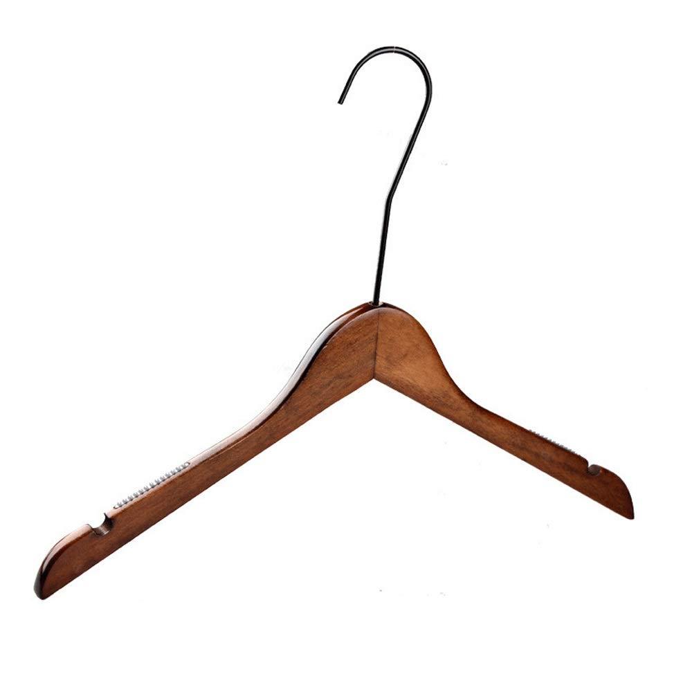 ハンガー 10ヘビーデューティウッドハンガードレスのスーツクローゼット多機能ハンガーのための余分な高さのフック付きスーツコートジャケットハンガー (Color : Retro, Size : 40*30.5*1.2cm) B07SPWXQLX Retro 40*30.5*1.2cm