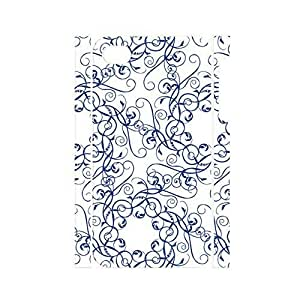 THYde Artistical Chinese Style White and Blue Porcelain Pattern Handmade Hard Plastic Cover for Iphone 5/5s Case ending