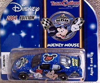 Disney 2004 Mickey Mouse NASCAR Daytona 500 Diecast Chevrolet Monte Carlo