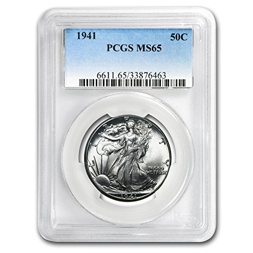 1941 Walking Liberty Half Dollar MS-65 PCGS Half Dollar MS-65 PCGS