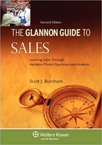 Glannon guide to sales learning sales through multiple choice glannon guide to sales learning sales through multiple choice questions and analysis second edition glannon guides 2nd edition fandeluxe Image collections