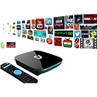 YoungGo Q BOX Android 5.1 OS Smart TV BOX Amlogic S905 Quad Core 2GB DDR3 16GB EMMC Flash,2.4G/5G Dual Wifi,1000M-LAN,Bluetooth 4.0,UHD 3D 4K Set Top Box