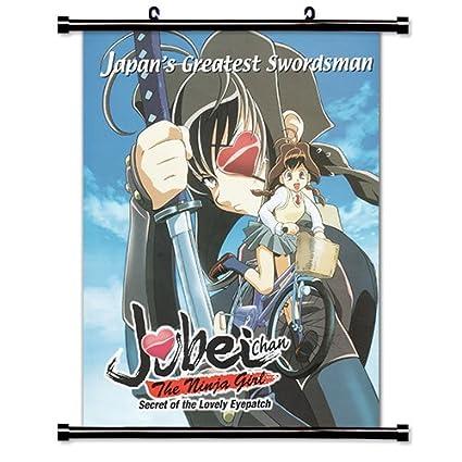 Amazon.com: Jubei-chan The Ninja Girl Anime Fabric Wall ...
