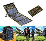 1pc 5v 7w Portable Folding Solar Panel Power Source Mobile USB Charger for Cell Phones GPS Digital Camera PDA