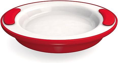 // assiette chauffante Ornamin Assiette Isotherme Antid/érapante /Ø 25 cm Jaune vaisselle isotherme aide aux repas Mod/èle 201