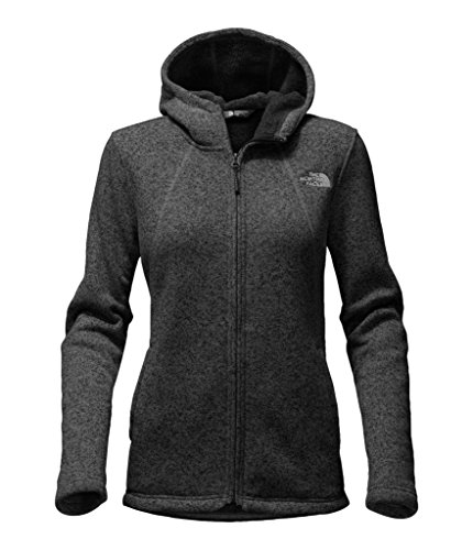 - The North Face Women's Crescent Full Zip Hoodie - TNF Black Heather - S (Past Season)