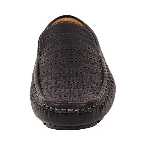Beverl St Mens Skor Dressat Mocassin Loafers (rds44 Svart, 7 Oss)