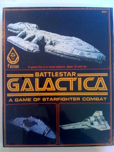 1979 fasa Battlestar Galactica Game of Starfighter Combat by Fasa