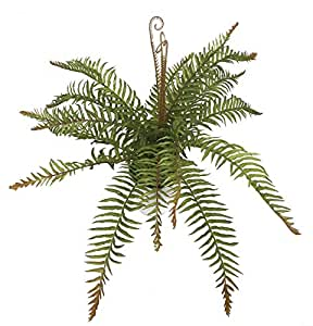 Artificial Fern Plants Simulation Greenery for Indoor Home Decor Wedding Garden, Artificial Plant