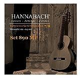Hannabach 890 MTW 7/8 Children Guitar Set (G3 wound) Scale 62-64cm