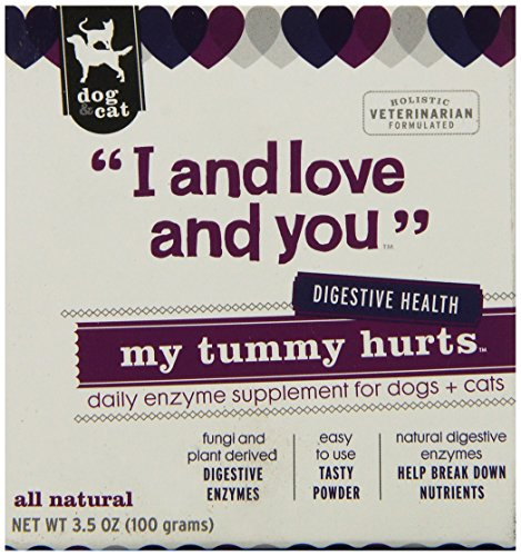 I and love and you, Dog and Cat Supplements, My Tummy Hurts