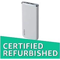 (CERTIFIED REFURBISHED) Intex IT-PBA 10K Poly 10000mAH Lithium Polymer Power Bank (White)
