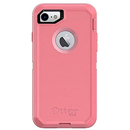 best service 10e0f 1586c Rugged Protection OtterBox DEFENDER SERIES Case for iPhone 8 and iPhone 7  (NOT Plus) - Case Only - ROSMARINE WAY (ROSMARINE/PIPELINE PINK)